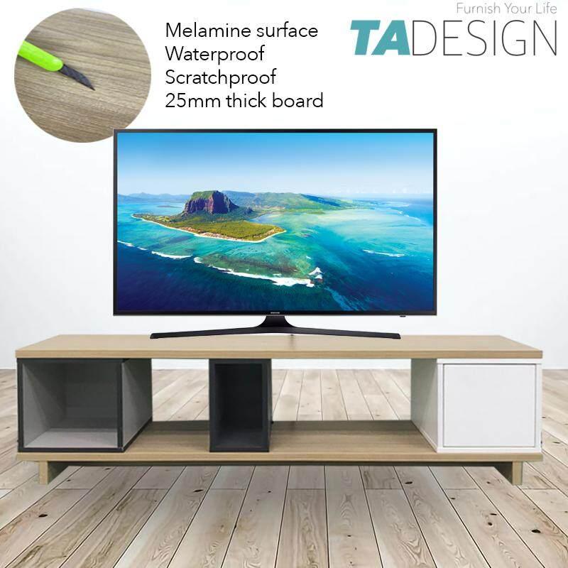 TAD FLEXI melamine surface 4 feet and 5 feet tv console cabinet