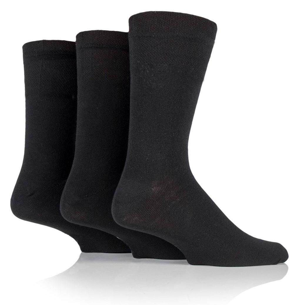 Semlouis Men Quarter Crew Socks - Plain Dark Colour / PAIR