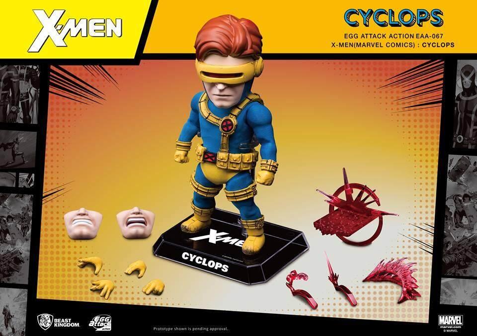 Beast Kingdom Marvel X-Men: Egg Attack Action - Cyclops (EAA-067) - Mainan Kanak Kanak Lelaki