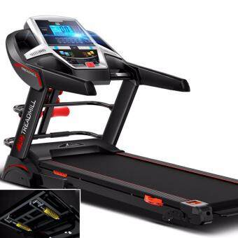 2 Years Warranty - Genuine 3.0HP SuperHorse AD-A918 Treadmill / 5 Inch Blue Display Single function / Electric Treadmill Home Fitness Gym Running Walking Equipment (Premium Edition Multifunction)