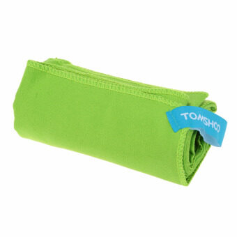 75*130cm Microfiber Quick Drying Towel Compact Travel CampingSwimming Beach Bath Body Gym Sports Towel Green