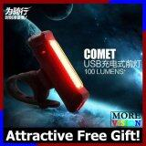 [Attractive Free Gift!] RAYPAL COMET USB Rechargeable Bicycle Tail Light 100 Lumen (2 colors) - RB0211