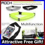 [Attractive Free Gift!] Rock Universal Phone Running Belt Waterproof Waist TOUCH SCREEN - RB0222
