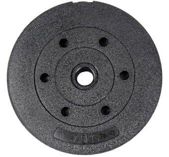 High Grade Bumper Dumbbell Weight Plate Barbell Plates 7.5kg Piece