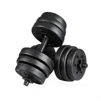 Top Grade Bumper Plate Rubber Dumbbell 25kg /pair Barbell