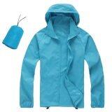 Unisex Lightweight & Breathable Sport Jacket Sky Blue