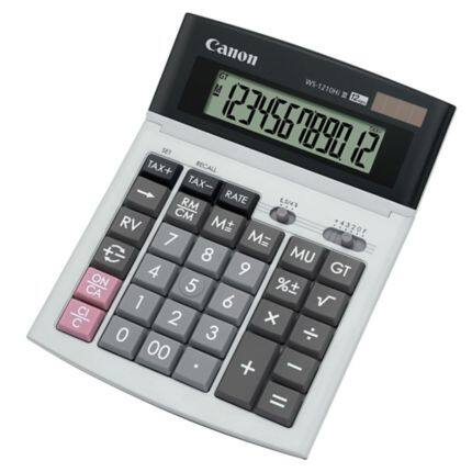 Original Canon WS-1210Hi III Desktop (12 Digits) Calculator
