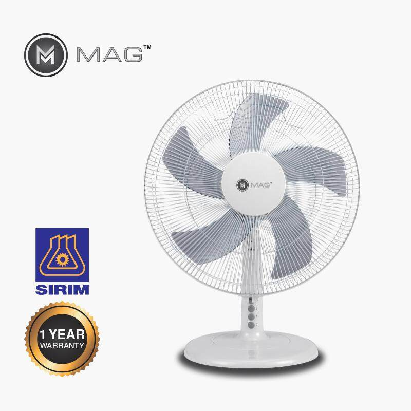 MAG 16 INCH TABLE FAN WITH 5-BLADES
