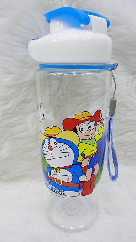700ML Cartoon Water Bottle Kids Drinking Bottle BPA Free (BGJAYA)-Doraemon