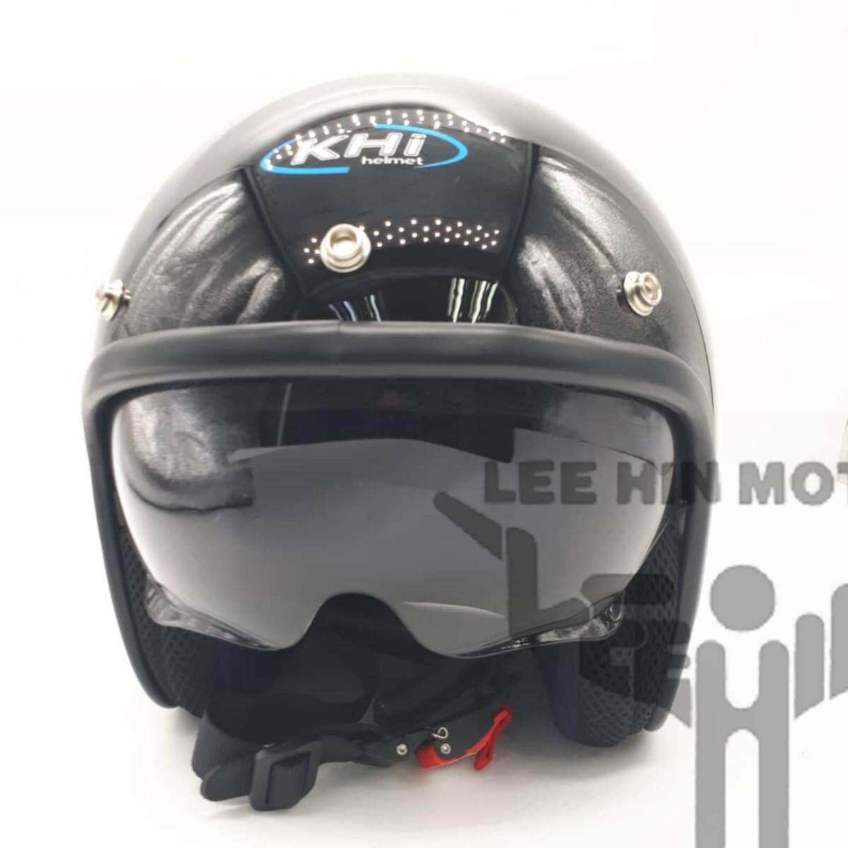 Original KHI Retro Helmet RD01 Double Visor Helmet