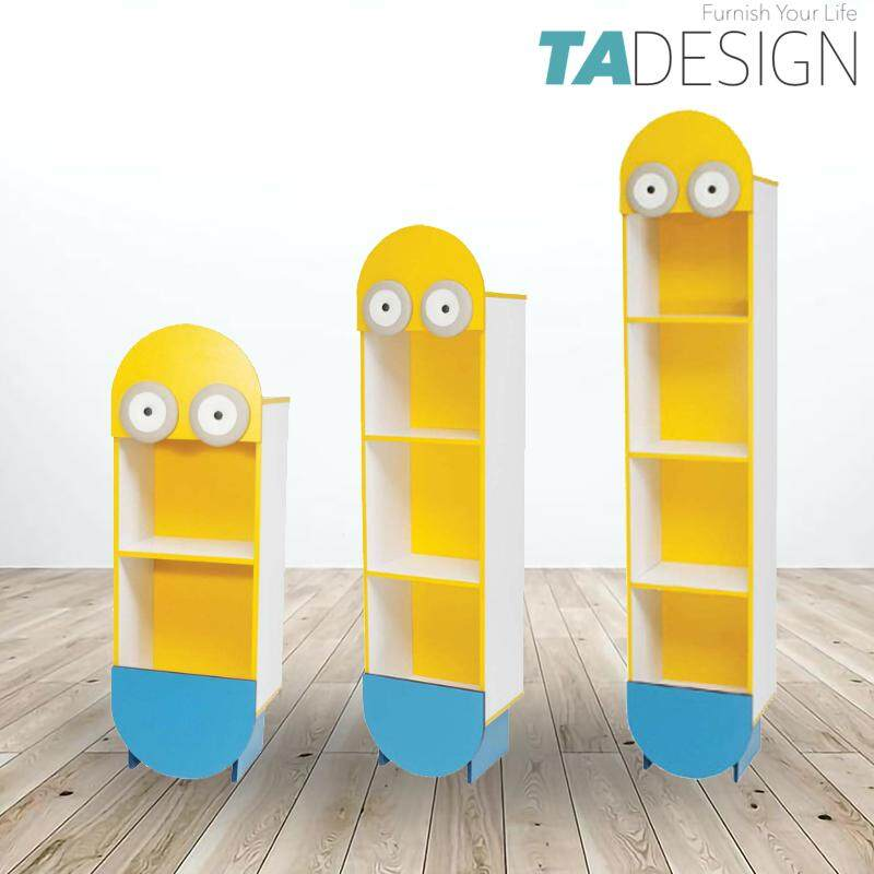 TAD MINIONS kids cabinet storage rack filling cabinet bookcase