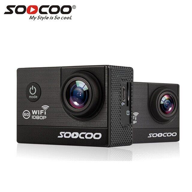 Soocoo C20 NTK96660 AR0330 2.0 Inch Display Action Camera 1080P HD WiFi 170 Degree Wide Angle