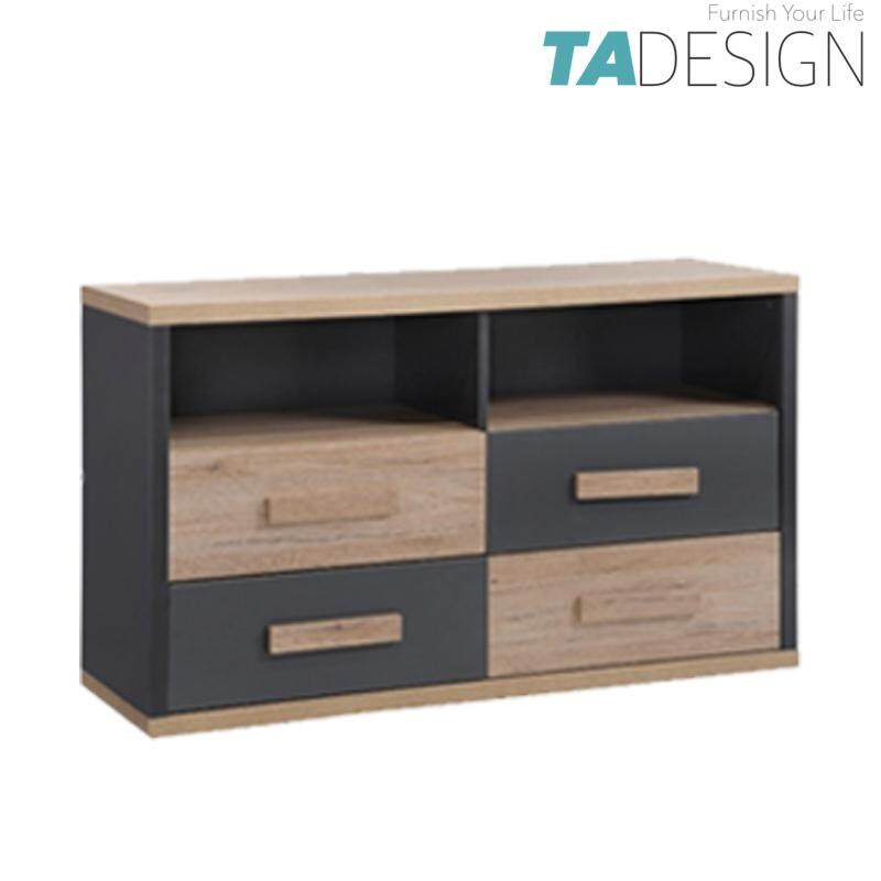 TAD KOBI 4 Drawers TV console table TV cabinet