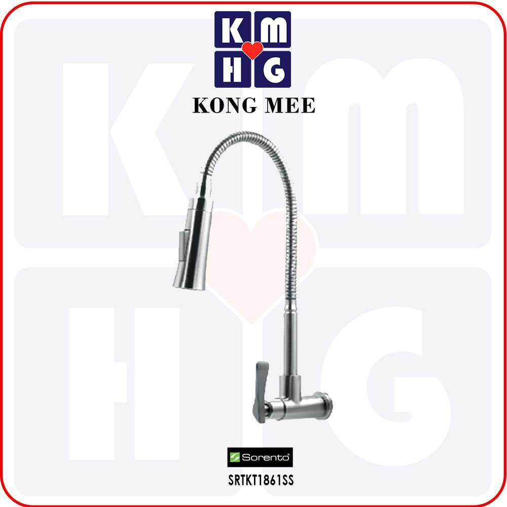 Sorento Italy - High Quality G304 Stainless Steel Flexible Wall Mounted Kitchen Tap (SRTKT1861SS)