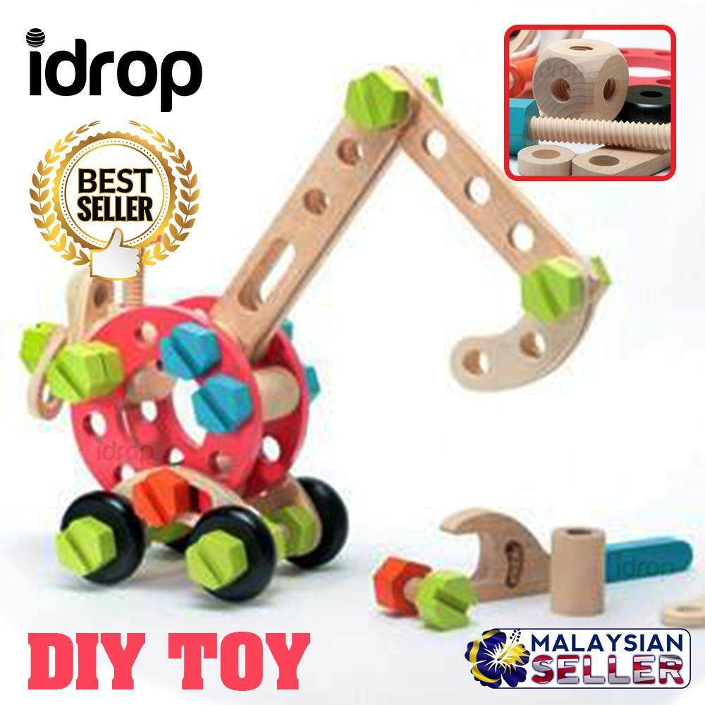 DIY TOY - Self Assemble Construction Creative Toy -