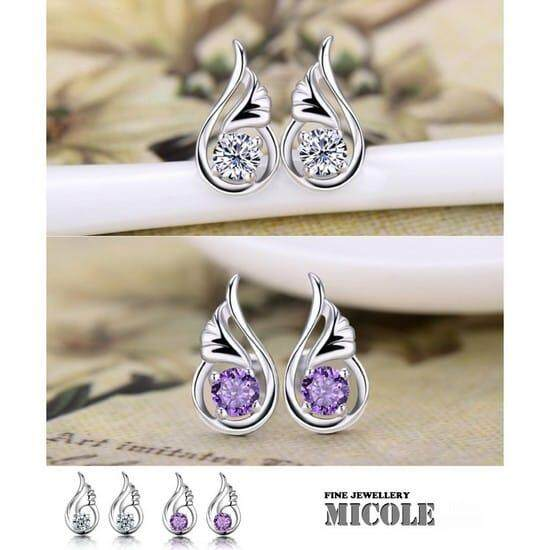 Micole E5006 Korean Style Women Elegant Earrings