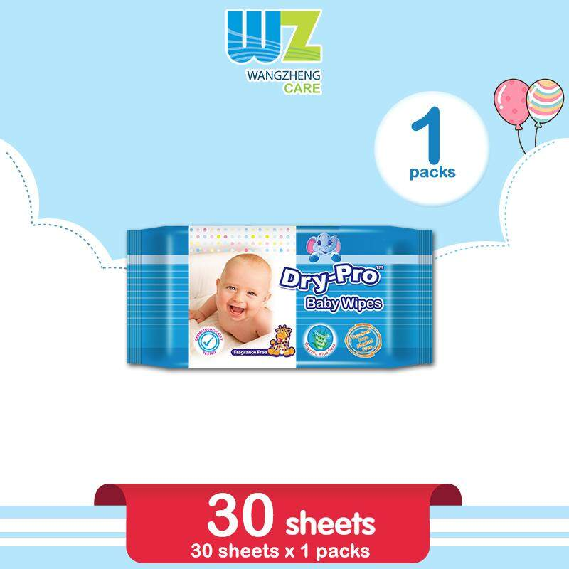 Drypro Baby Wipes 30s x 1 Pack [WangZheng CARE]
