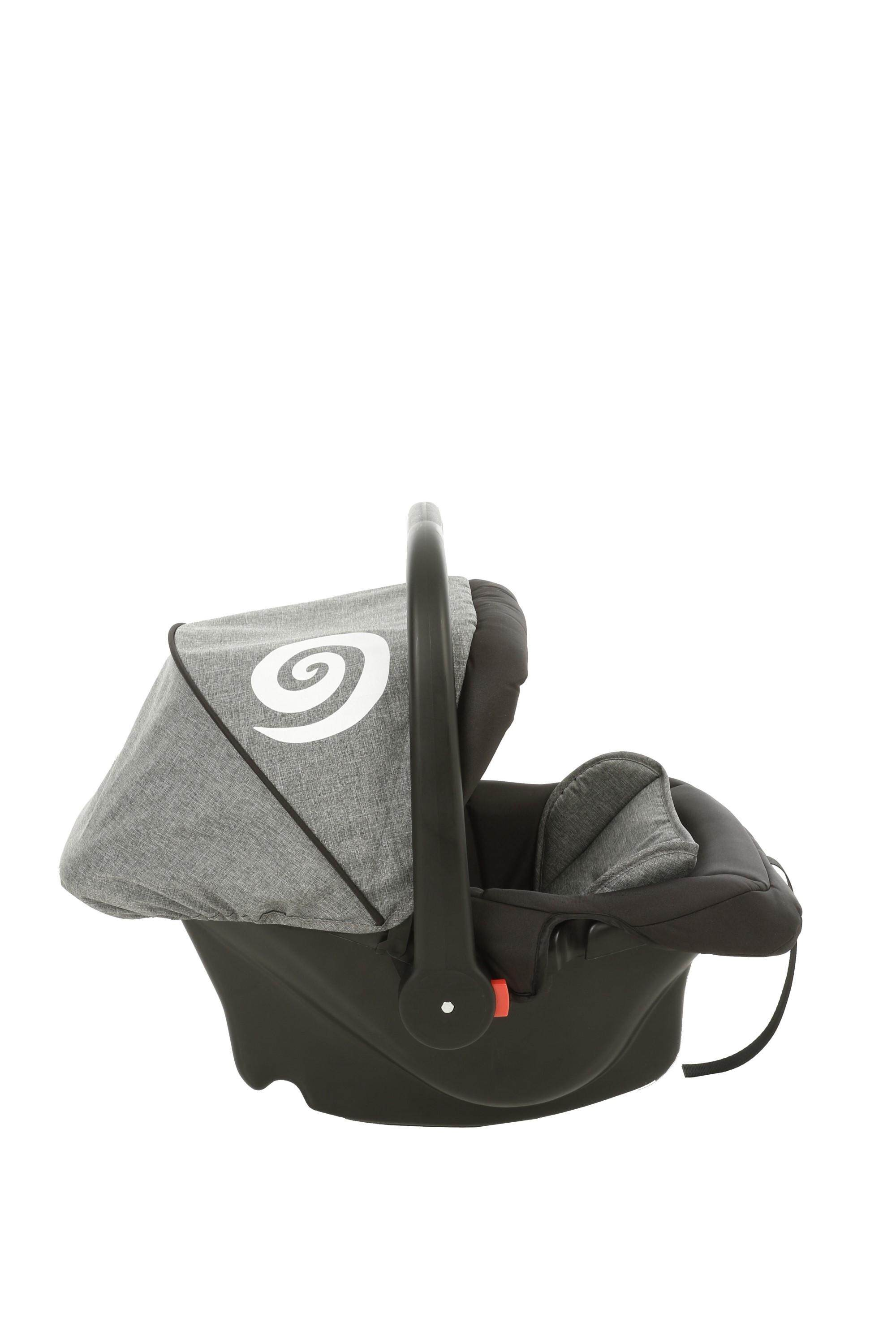 Akarana Baby Koru Car Seat Carrier Koru Grey