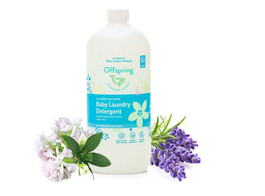 Offspring Natural All-Natural Plant-Based Baby Laundry Wash 1-litre