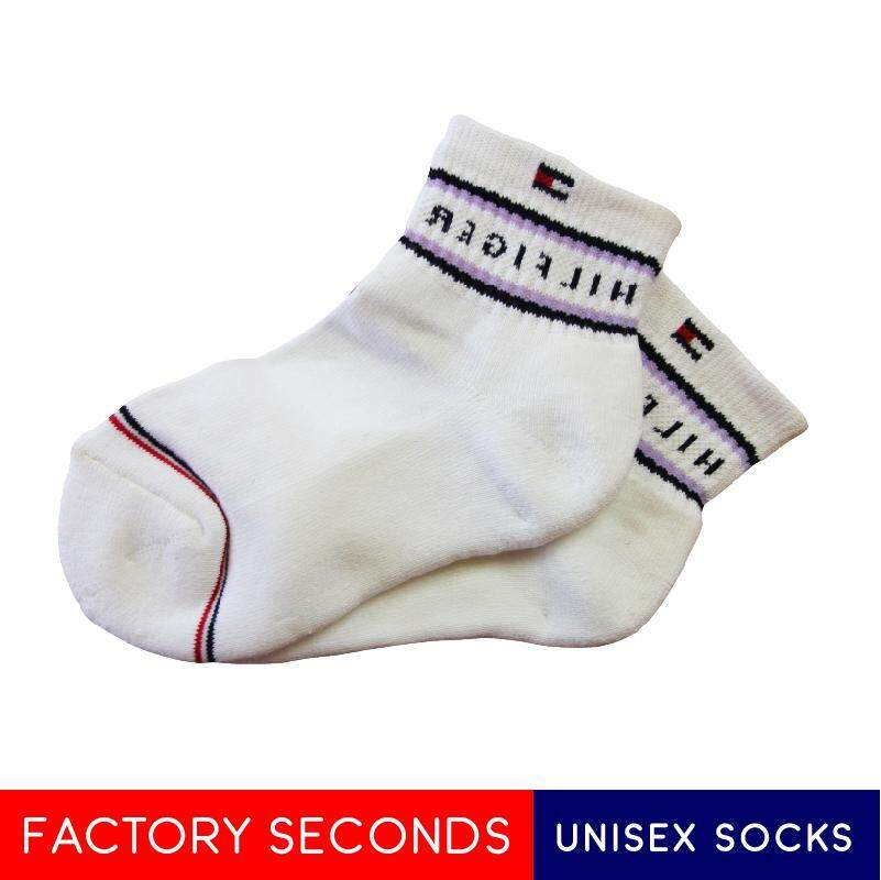 COMFORTABLE SOCKS FACTORY SECOND TMK1-2 WHITE (S SIZE)