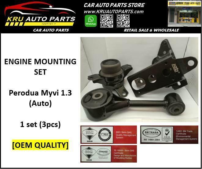 Engine Mounting Complete Set [OEM Quality] - Perodua Myvi 1.3 (AT)