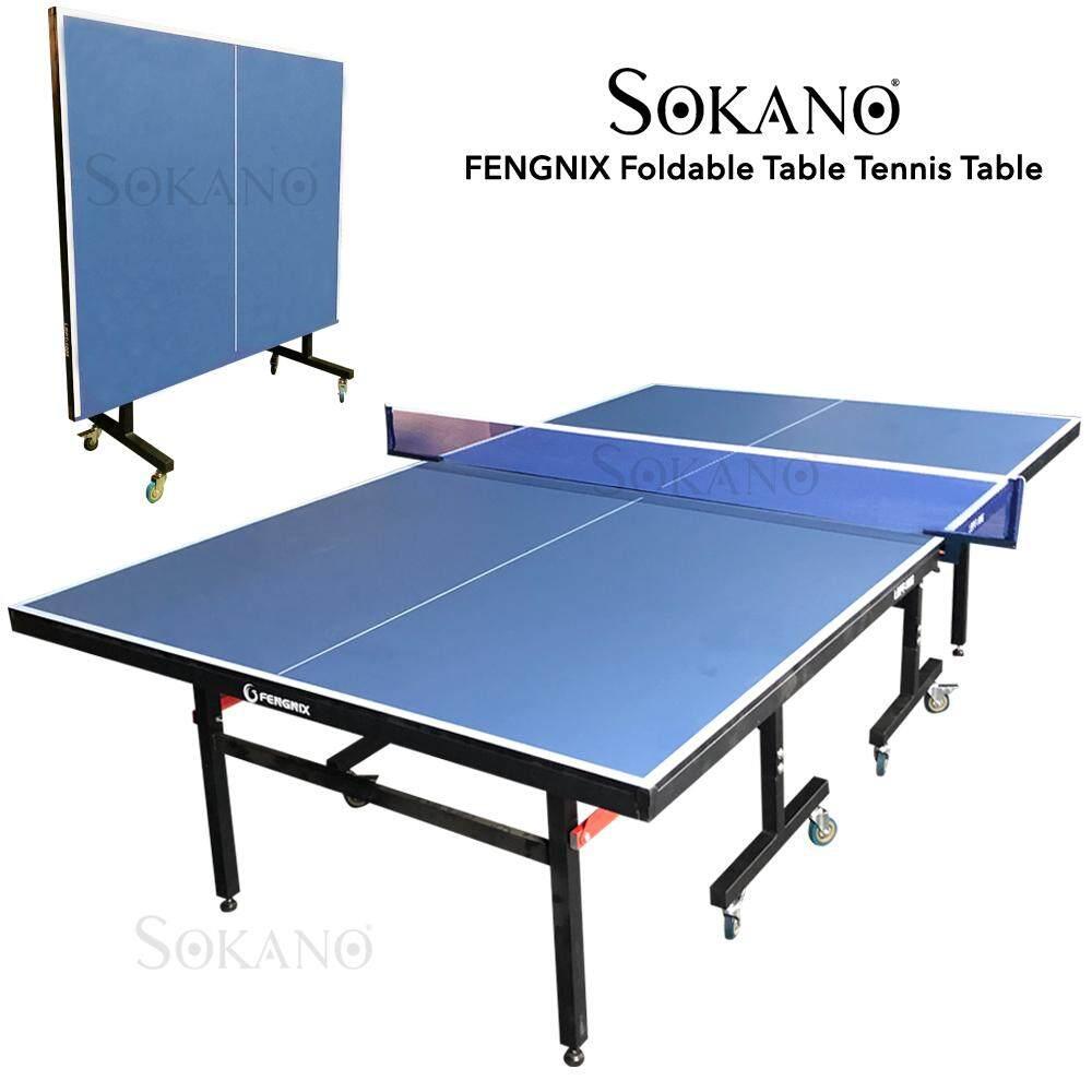 SOKANO FENGNIX Foldable Table Tennis Table Ping Pong Ball Table