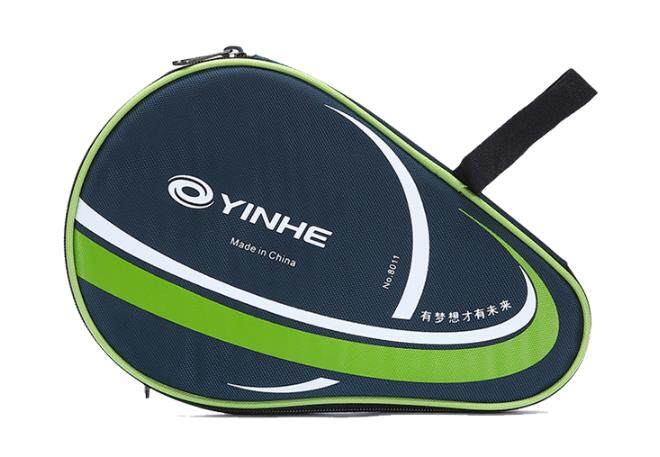 YINHE Genuine 8011 Round Shape Table Tennis Ping Pong Racket Cover Bag Pouch