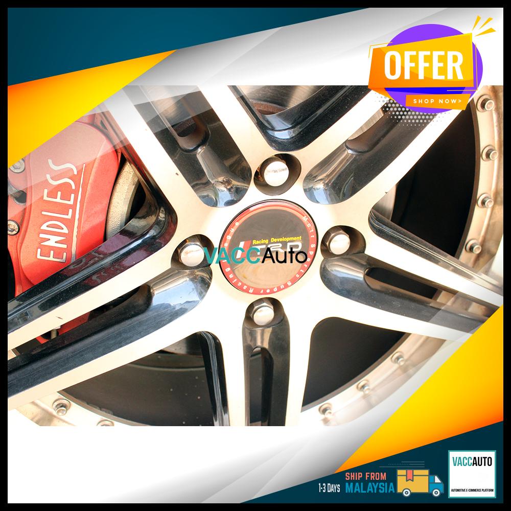 TRD Car Wheel Center Hub Caps Cover Rim Sticker