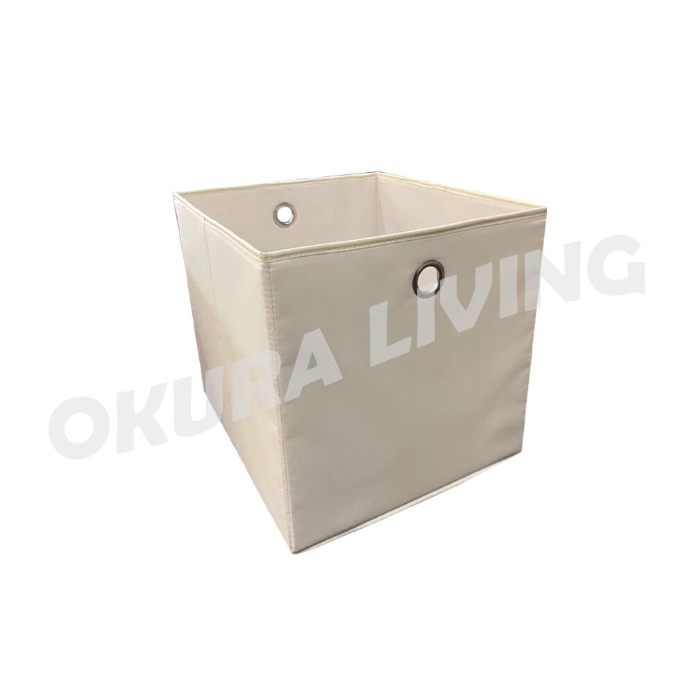 Okura Organization Cardboard Foldable Clothes Drawer Organizers Toys Books Storage Cube Box Bin Basket Container
