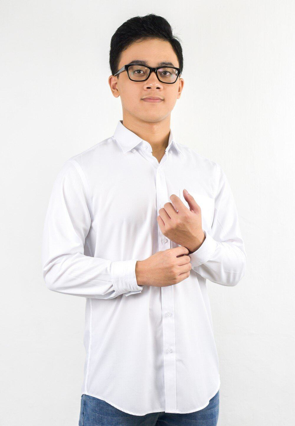 Exhaust Plain Long Sleeve Shirt