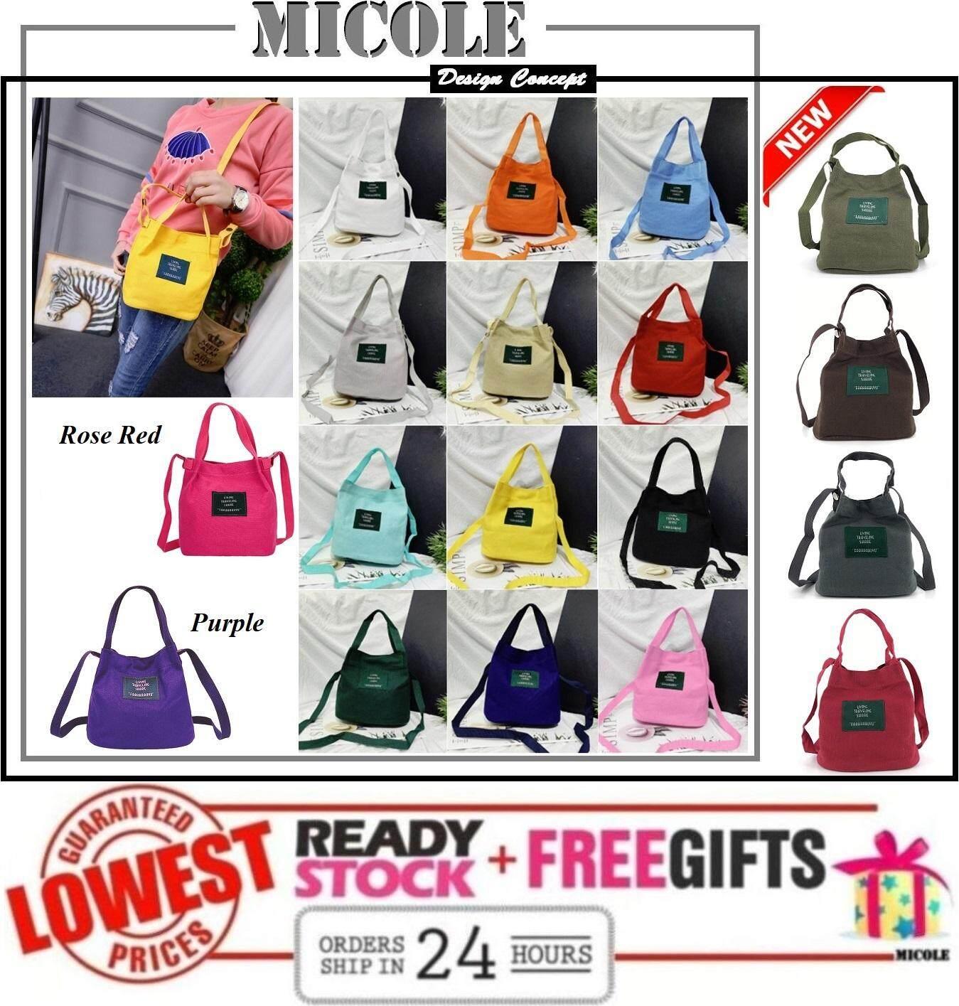 Ready Stock  MICOLE SB2253 Korean Mini Shoulder Bag Handbag Women Sling Bag Beg
