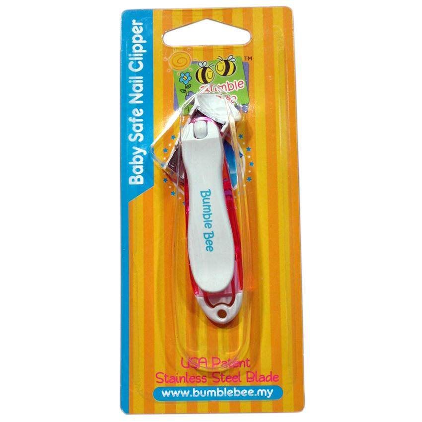 Bumble Bee Baby Safe Nail Clipper (HG0003) - Pink