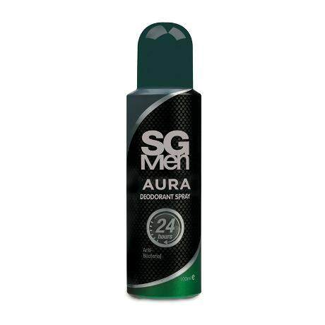 SG Men Aura Deodorant Spray 100ml perfume for men