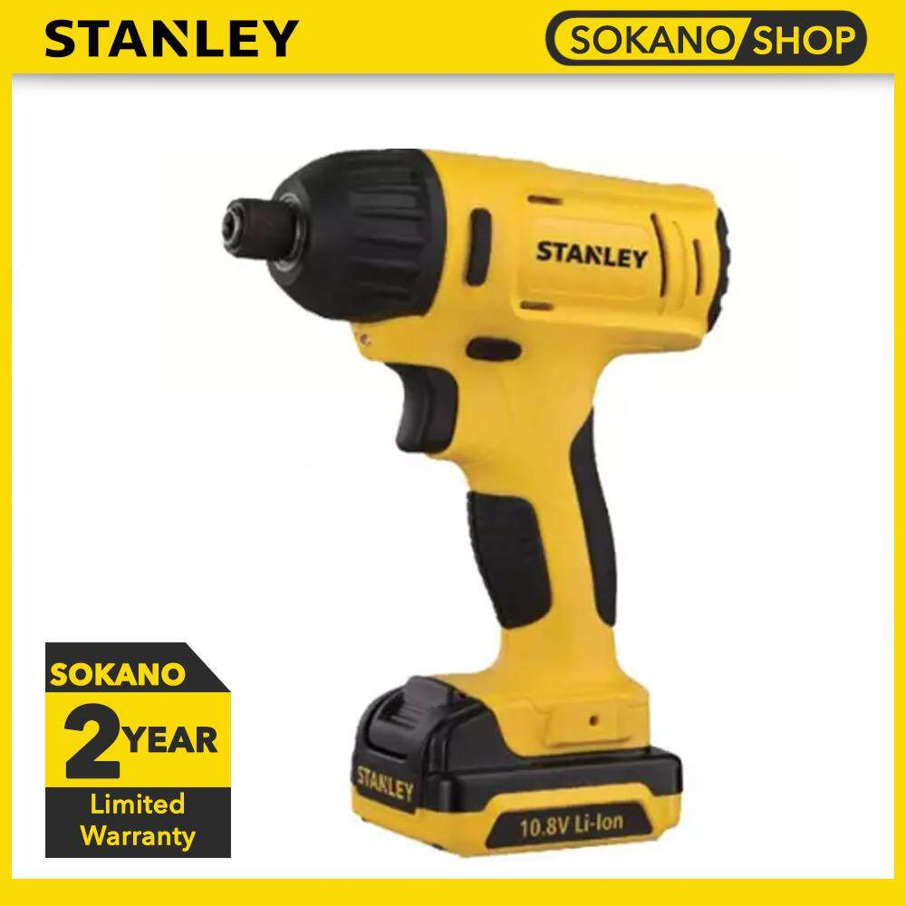 STANLEY SCI12S2 Impact Driver With 2pcs Batteries & 1pc Charger 10.8V Cordless Li-Ion