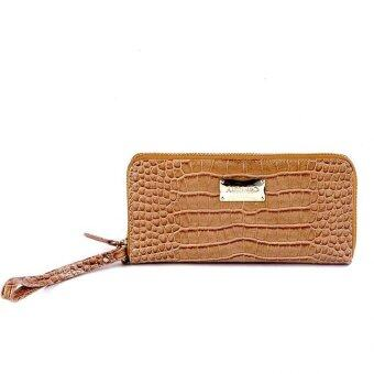 Alfio Raldo LA-665 Long Purse (Camel)