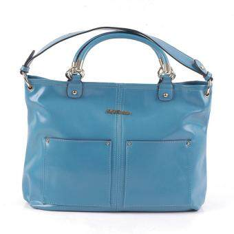 Alfio Raldo Young Top Handle Bag Blue
