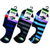 Semlouis Men Low Cut Socks - Stripes / PAIR