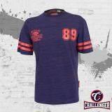 CHALLENGER BIG SIZE Round Neck T-Shirt CH1015 (Purple)