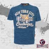 CHALLENGER BIG SIZE Round Neck T-Shirt CH1017 (Blue)