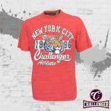 CHALLENGER BIG SIZE Round Neck T-Shirt CH1017 (Orange)