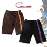 CHALLENGER BIG SIZE Track Shorts Poly-Micro CH5023 (Black)