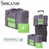 Diniwell Luggage Bagasi Folding Bag Large Capacity Organizer Foldable Bag Green