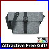 Flash Messenger Sling Bag Shoulder Outdoor Casual Backpack Grey Bag MI0901