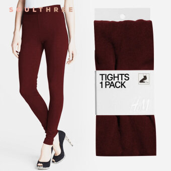 H&M 360 Den Autumn-Winter Leggings (Burgundy)