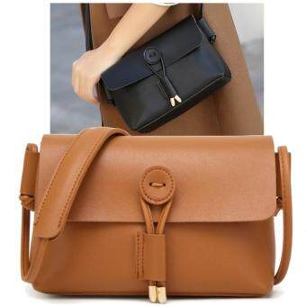 Julia Nubuck Leather Doctor Handbags Women Shoulder Bags Plaid PuMessenger Bag Lady Totes Small Crossbody Sling (Brown)