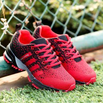 Men Fashion Sneakers Casual Running Sports Shoes(red)