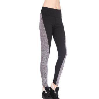 PAlight Fashion Women Fitness Leggings Workout Yoga Pants Panelled High Waist Quick-drying Wear Trousers