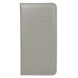 PU Leather Passport Holder (Grey)
