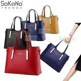 SoKaNo Trendz Sweet SA PU Premium PU Leather Bag Handbeg Wanita - Red