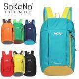 SoKaNo Trendz XM Korean Style Sport Travel Hiking Backpack 10L - Light Blue